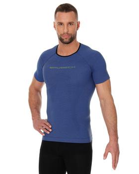 BRUBECK ATHLETIC SHIRT 3D RUN PRO MĘSKA SS11920 BLUE