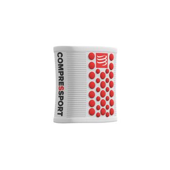 COMPRESSPORT SWEATBAND WHITE/RED